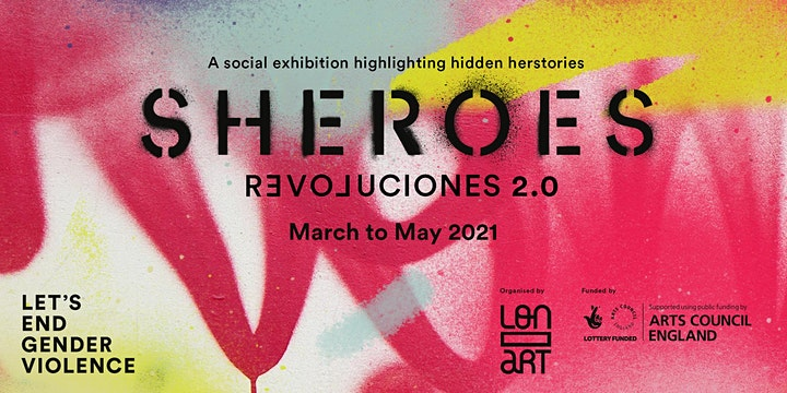 """""""Sheroes-Revoluciones"""" Talk - """"What is next for feminism? Looking forward"""" image"""