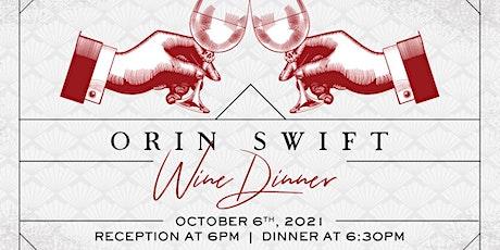 Orin Swift Wine Dinner at Heaton's Vero Beach! tickets