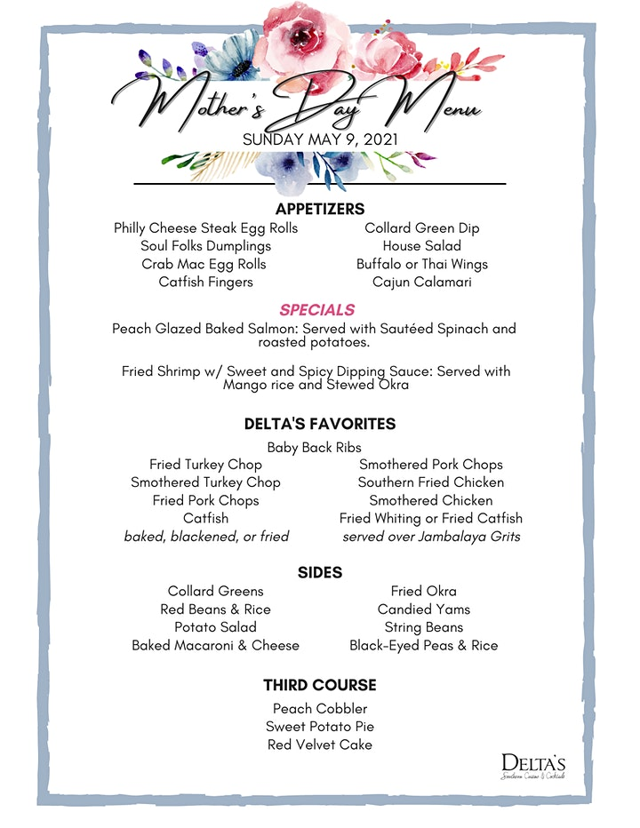 Mother's Day Brunch & Dinner image