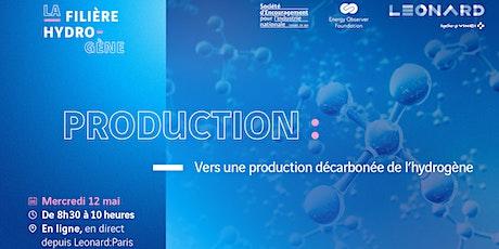 #PRODUCTION  #HYDROGENE Vers une production décarbonée billets