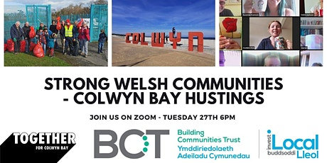 Strong Welsh Communities - A Hustings For The Senedd Elections tickets
