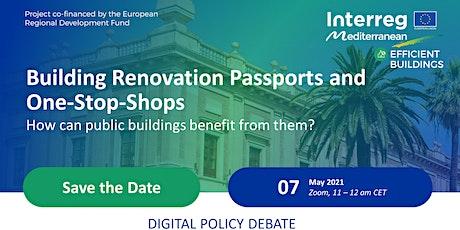 Webinar: Building Renovation Passports & One-Stop-Shops for public building tickets