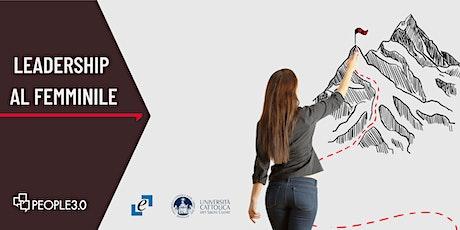 Conferenza Ricerca Leadership al Femminile biglietti