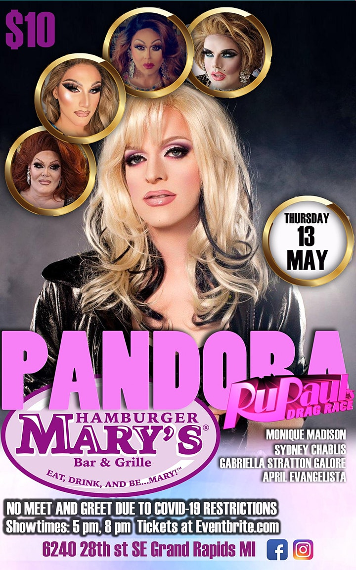 Pandora Boxx at Hamburger Mary's Grand Rapids image