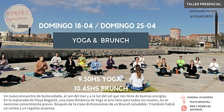 Yoga & Brunch en Bogatell tickets