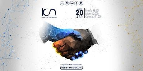 KCN Speed Networking Online 20Abr - Haz crecer tu red de contactos tickets