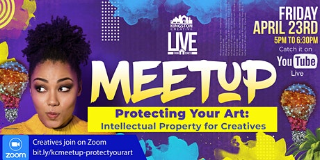 Kingston Creative's Virtual Meetup - Protecting your Art Tickets