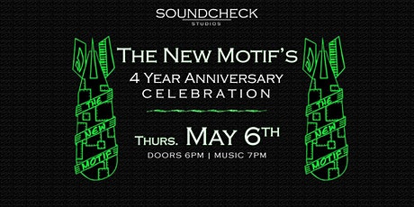 The New Motif - 4 Year Anniversary Show tickets