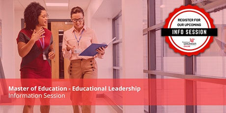 M.Ed in Educational Leadership - Information Session tickets