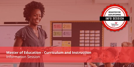 M.Ed in Curriculum and Instruction - Information Session tickets