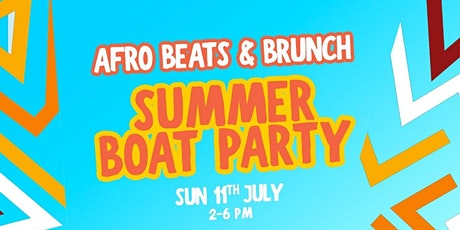 Afrobeats Summer Boat Party tickets