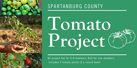 2021 Spartanburg County 4-H Tomato Project tickets
