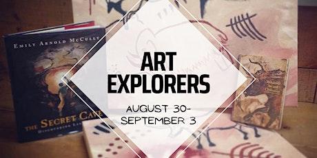 Art Explorers Virtual Camp tickets