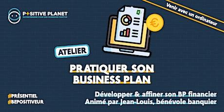 Atelier : Pratiquer son business plan financier billets