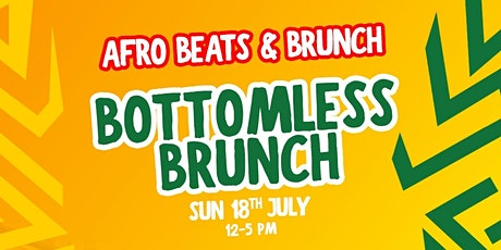 Afrobeats n Bottomless Brunch tickets