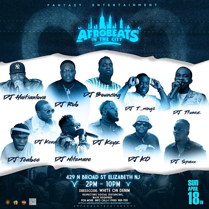 Afrobeats In The City || KBD ⚪️ WHITE & DENIM (♈️ ARIES CELEBRATION) image