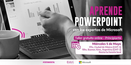 #VentanaDigital - Curso gratuito de Power Point | por Eidos y Microsoft entradas
