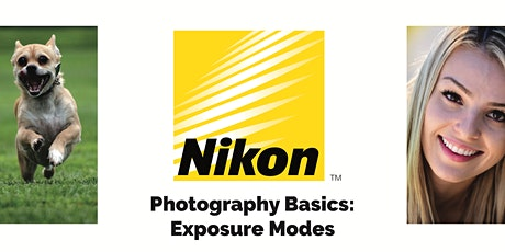 PHOTOGRAPHY BASICS: EXPOSURE MODES tickets