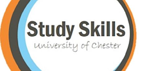 Study Skills Webinar: Approaching an Assignment tickets