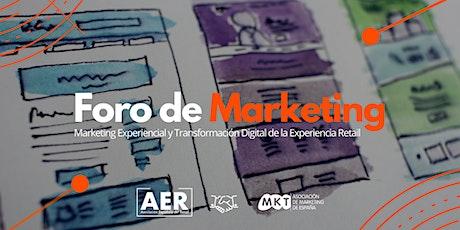 Te invitamos a participar en el Foro de Marketing Retail entradas