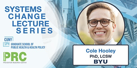 Systems Change Lecture Series: Guest speaker Cole Hooley tickets