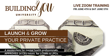Building You:  Launch & Grow Your Private Practice tickets