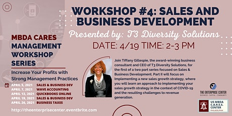 Business Management Workshop #4: Sales & Business Development tickets
