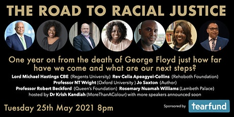 The Road to Racial Justice - one year on from the death of George Floyd tickets