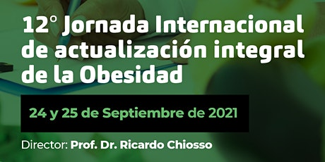 12° Jornada Internacional de actualización integral de la Obesidad entradas