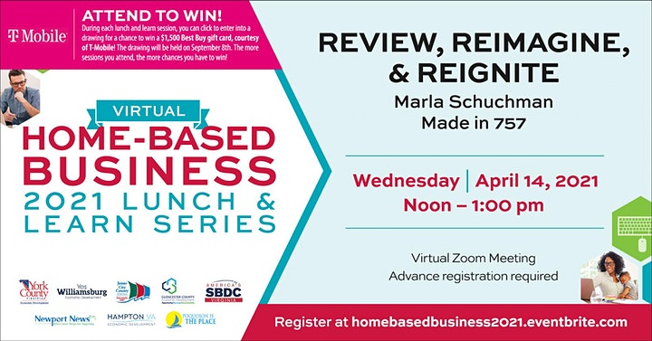2021 Home-based Business Lunch & Learn Series image