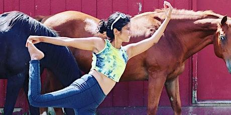 Yoga at Sunrise Farm Sanctuary tickets