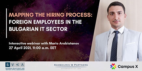 Mapping the hiring process: Foreign employees in the Bulgarian IT sector tickets
