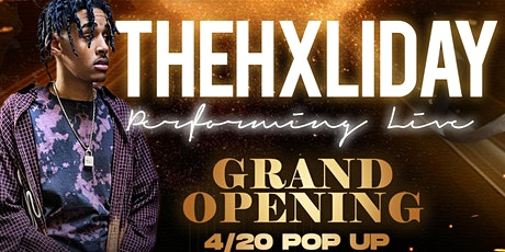 THEHXLIDAY LIVE PERFORMANCE & SOUNDS BY: DJ DRIP tickets