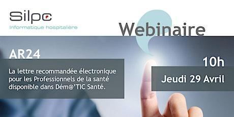 La lettre recommandée électronique AR24 arrive dans Dém@'TIC Santé tickets