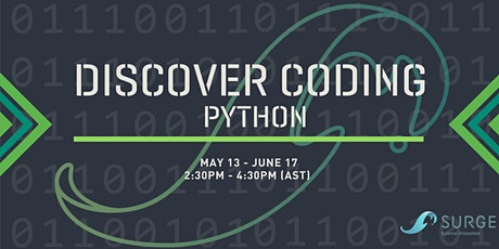 SURGE Discover Coding - Python Summer 21 tickets