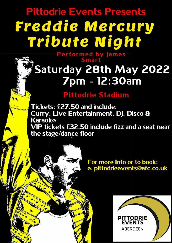 Freddie Mercury Tribute Curry Night image