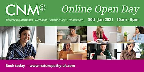 CNM Online Open Day tickets