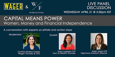 Capital Means Power: Women, Money and Financial Independence tickets