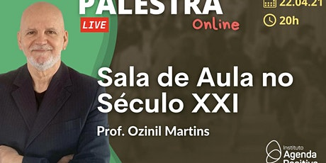 Palestra Online: Sala de Aula no Século XXI bilhetes