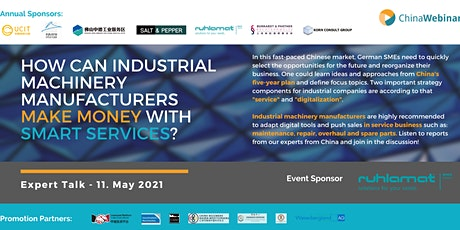 """How can machinery manufacturers make money with smart services?"" tickets"