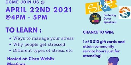 Online Roadshow: Stress Management 101 tickets