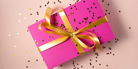 """Pratiquez l'anglais - """"Gift-giving"""" (intermédiaire) 45 minutes tickets"""