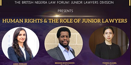Human Rights & the Role of Junior Lawyers tickets