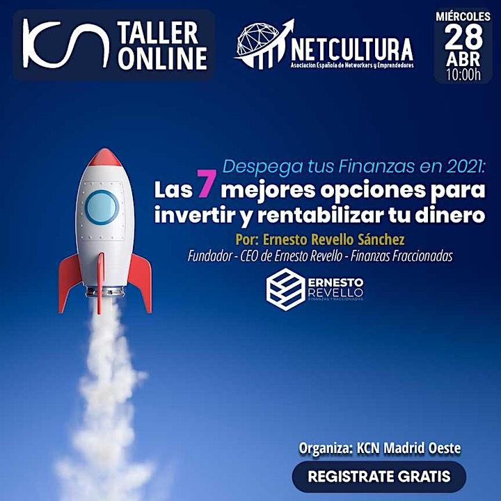 Imagen de Taller Online Despega tus Finanzas en 2021 - 28Abr