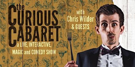 Copy of The Curious Cabaret: A Virtual Magic Event tickets