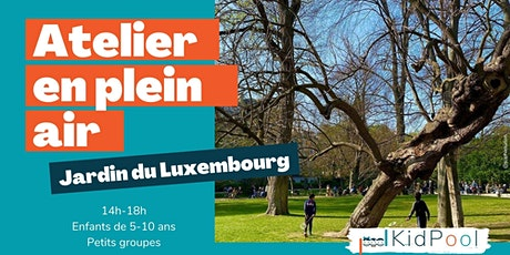 Atelier en plein air - 5-10 ans - mer. 21/04 14h-18h - Jardin du Luxembourg billets