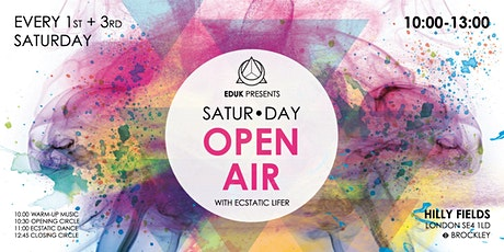 Ecstatic Dance UK - SATUR•DAY Open Air tickets