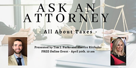 All About Taxes! tickets