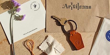 Online Craft Workshop - Make Your Own Leather Keyring tickets