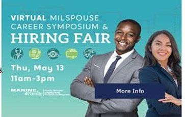 Virtual MilSpouse Career Symposium & Hiring Event ( Spouse Appreciation) tickets